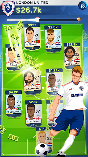 Idle Eleven - Be a millionaire soccer tycoon  screenshots 3