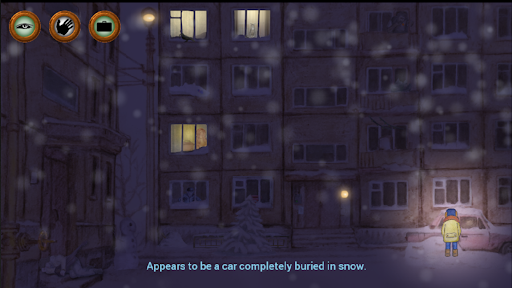 Alexey's Winter: Night Adventure apkpoly screenshots 5