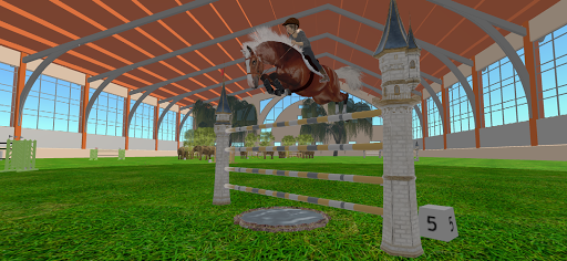Jumpy Horse Show Jumping screenshots 5