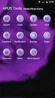 Purple-APUS Launcher theme