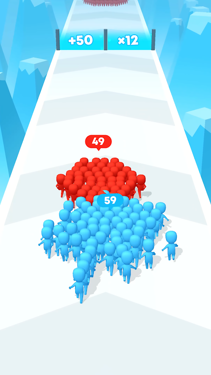 Count Masters: Crowd Clash & Stickman running game  poster 0