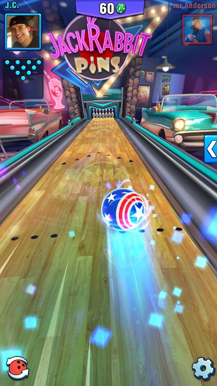 Bowling Crew — 3D bowling game poster 3