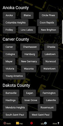 Fallout Shelters Data Map - Twin Cities, Minnesota  screenshots 6