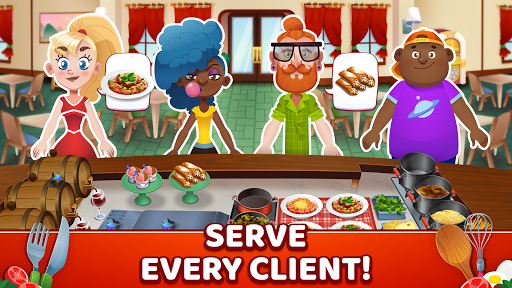 My Pasta Shop - Italian Restaurant Cooking Game modavailable screenshots 2