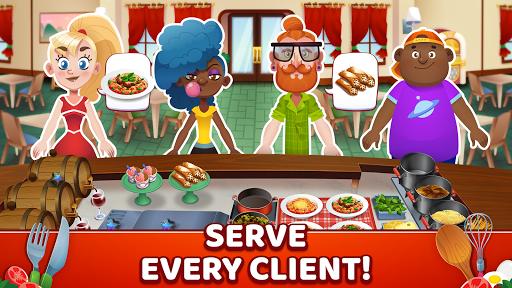 My Pasta Shop - Italian Restaurant Cooking Game apkslow screenshots 2
