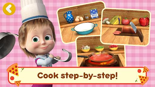 Masha and the Bear Pizzeria Game! Pizza Maker Game  screenshots 4