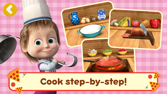 Masha and the Bear Pizzeria Game! APK MOD HACK 3