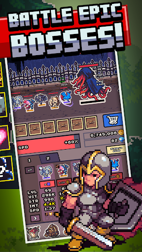Idle Monster Frontier - team rpg collecting game 1.8.7 screenshots 5
