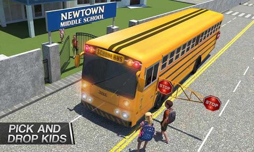 Coach Bus Simulator - City Bus Driving School Test 2.1 screenshots 6