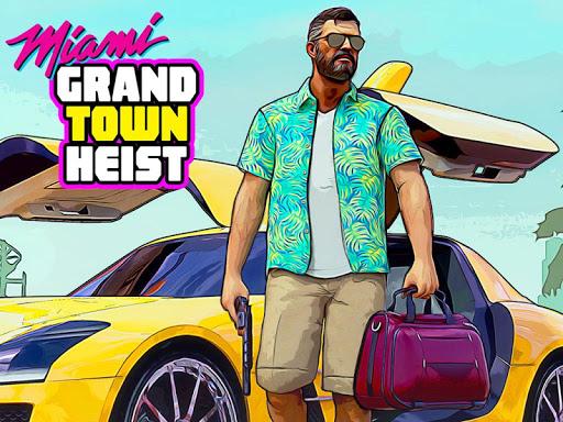 Grand Miami Gangster Theft : Crime City Simulator 6.1 Screenshots 9