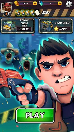 Zombie Blast - Match 3 Puzzle RPG Game  screenshots 7