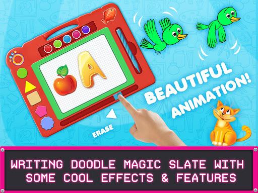 Kids Magic Slate Simulator - Toddlers Drawing Pad  screenshots 9
