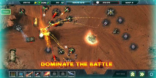 Tower Defense: Infinite War  screenshots 2