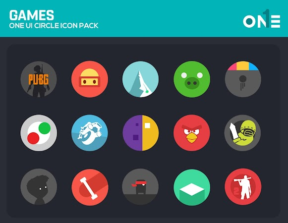 OneUI Circle Icon Pack v3.5