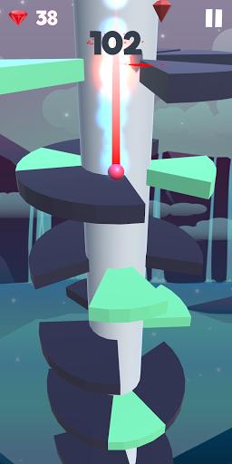 Jumplix - Helix Ball Bounce 3D screenshots 6