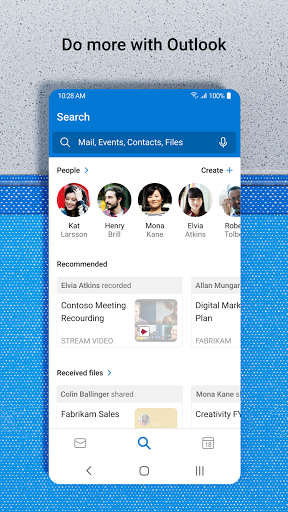Microsoft Outlook: Secure email, calendars & files apktram screenshots 4