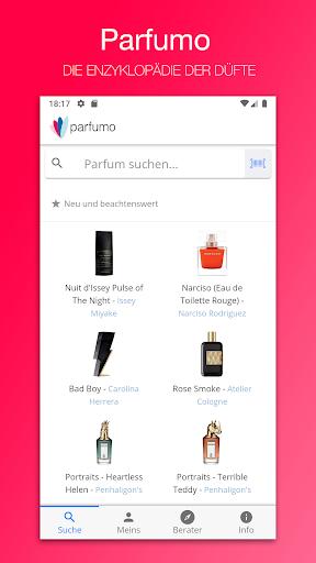 Code Triche Parfumo Parfumverzeichnis (Astuce) APK MOD screenshots 1