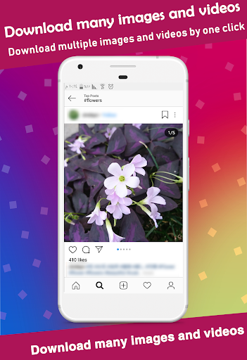 Video Downloader for Instagram - Save image&video android2mod screenshots 4