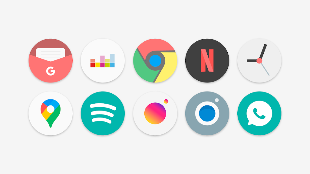 Flat Pie - Icon Pack  poster 0