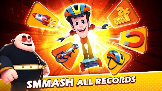 Smaashhing Simmba – Skateboard Rush MOD (Diamonds) 5