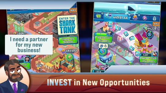 Shark Tank Tycoon APK (MOD, Unlimited Money) for Android 4