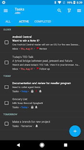 Nine - Email & Calendar Screenshot