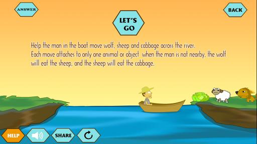 River Crossing IQ - Best IQ Test 1.06 screenshots 1