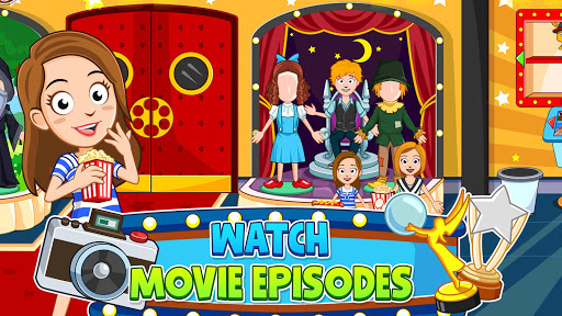 My Town : Cinema & Movie Star - Kids Movie Night 1.10 screenshots 5
