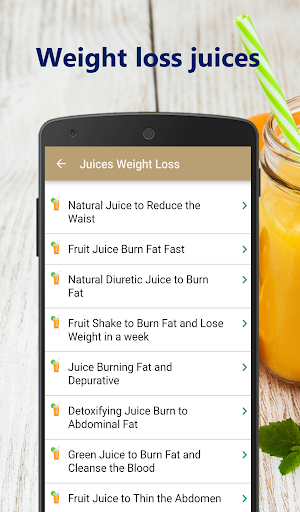 Foto do Weight loss juices