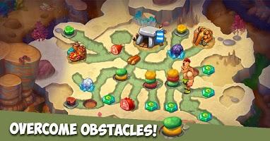 Caveman Dash - time management game