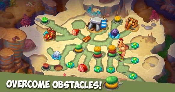 Caveman Dash – time management game Apk İndir 4