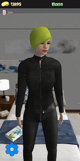 My Virtual Girl at home Pocket Girlfriend Shara 3D apkdebit screenshots 13