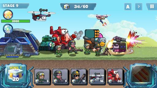 Télécharger Gratuit Guerre de défense mod apk screenshots 1