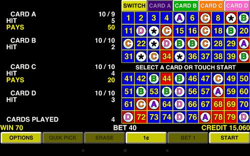 keno 4 multi card vegas casino hack