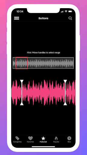 Instant Buttons Soundboard App android2mod screenshots 8