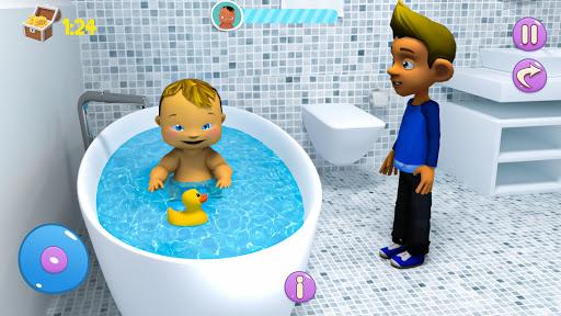 Real Mother Baby Games 3D: Virtual Family Sim 2019  screenshots 9