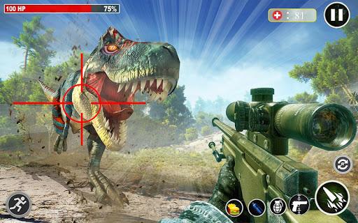 Dino Hunting 3d - Animal Sniper Shooting 2021  screenshots 7