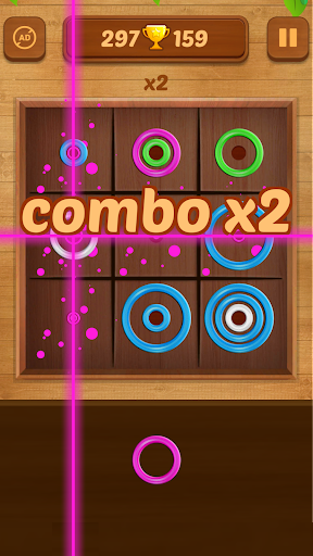 Color Rings - Colorful Puzzle Game 3.4 screenshots 2