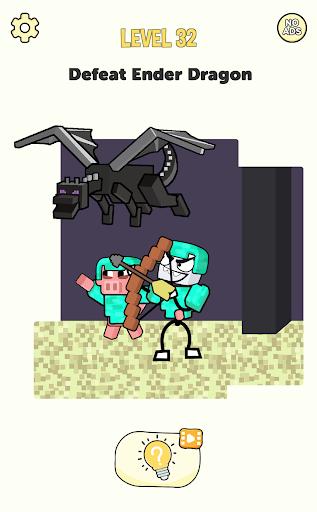Stickman Craft - Brain Puzzle Games screenshots 2