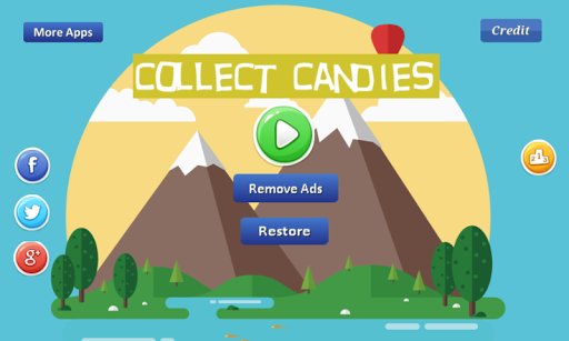 collect candies - many candies screenshot 2