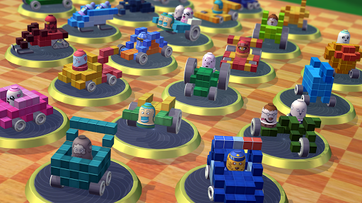 Pixel Car Racing - Voxel Destruction 1.1.2 screenshots 5