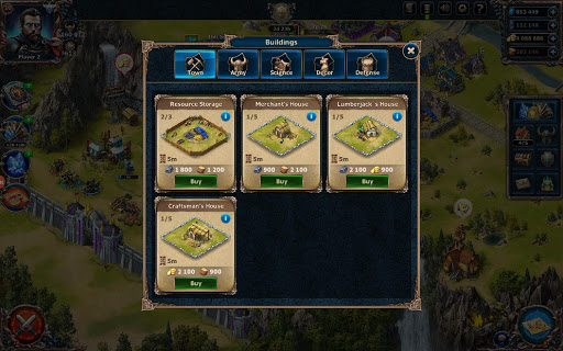 CITADELS ud83cudff0  Medieval War Strategy with PVP 18.0.19 screenshots 7