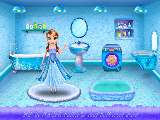 Ice Doll House Design: Decoration games 1.0.7 screenshots 6