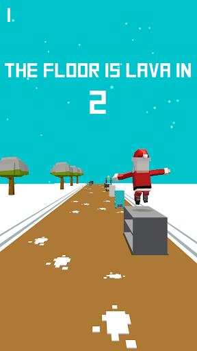 Xmas Floor is Lava !!! Christmas holiday fun ! apkpoly screenshots 4