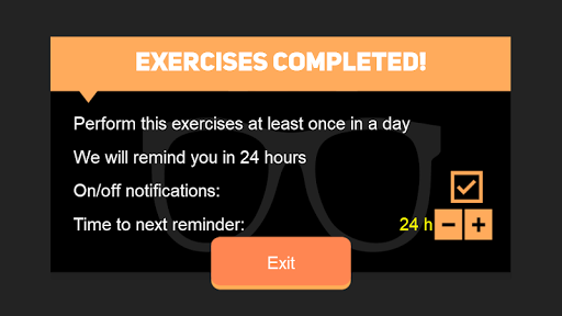 Eyes recovery workout android2mod screenshots 10