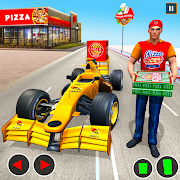 Formula Car Pizza Delivery New Car Driving Game