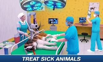 Animal Hospital Pet Vet Clinic: Pet Doctor Games