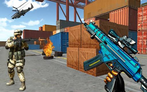 fps shooting gun strike counter terrorist game screenshot 3
