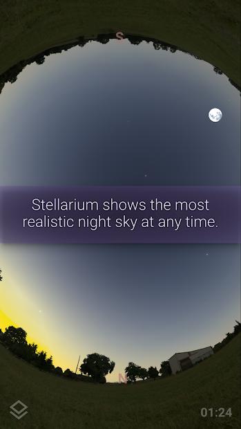 Stellarium Mobile PLUS - Star Map Android App Screenshot
