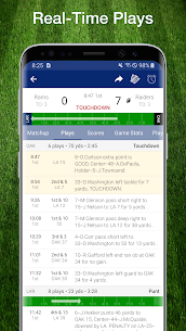 Football NFL Live Scores, Stats, & Schedules 2020 2